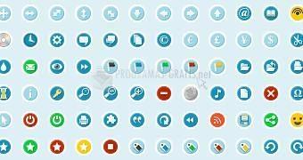 Pantallazo Circular Icons