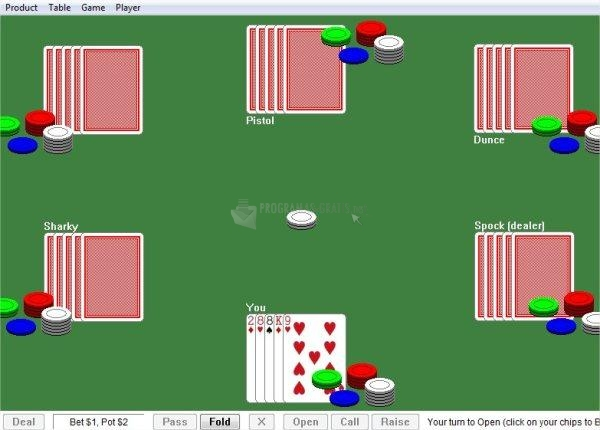 Pantallazo Quick Poker