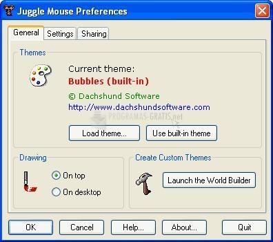 Pantallazo Juggle Mouse