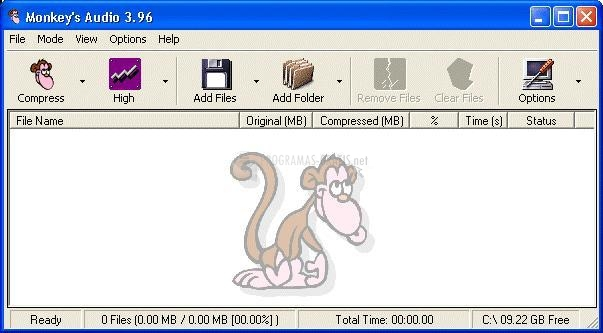 Pantallazo Monkeys Audio