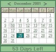 Pantallazo Foxware Countdown