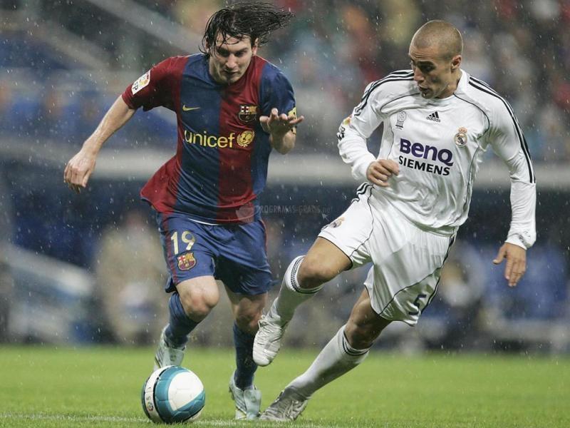 Pantallazo Messi VS Cannavaro