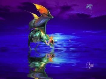 Pantallazo Darkling Dragon Screensaver