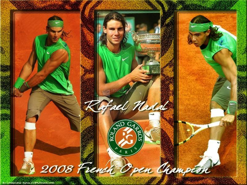 Pantallazo Rafa Nadal en Roland Garros