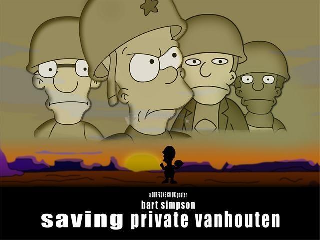 Pantallazo Saving Private Vanhouten