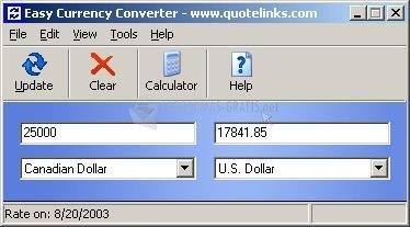 Pantallazo Easy Currency Converter