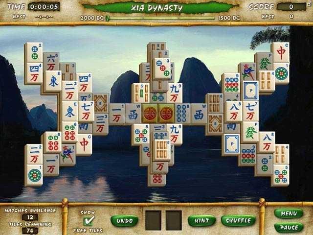 Pantallazo Mahjong Escape