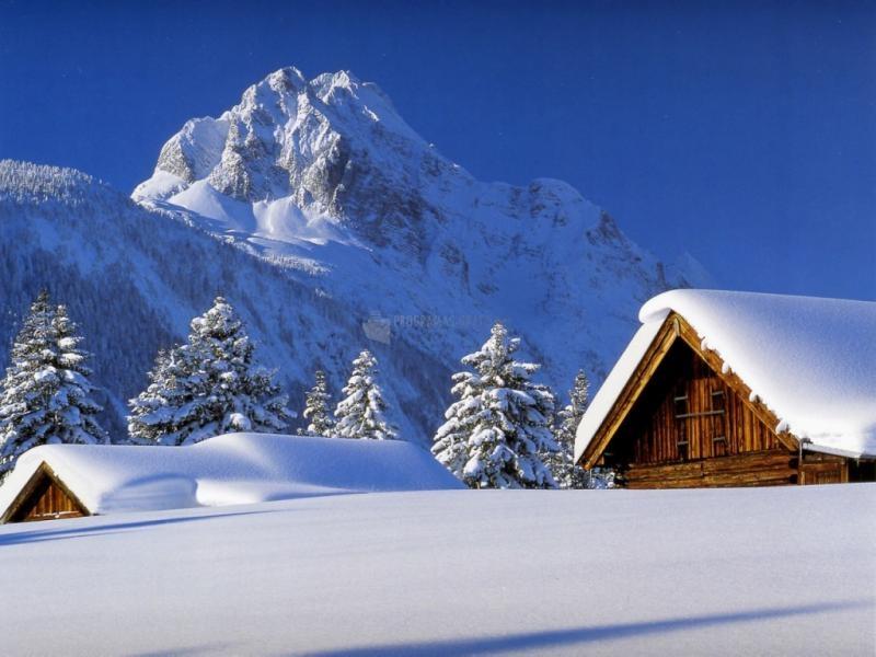 Pantallazo Cabañas en la montaña