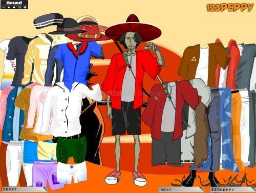 Pantallazo Champloo Mugen Dress Up Game