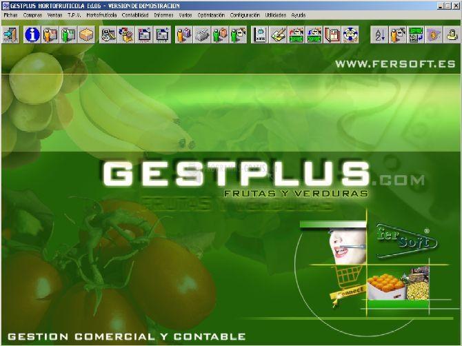 Pantallazo Gestplus Frutas y Verduras