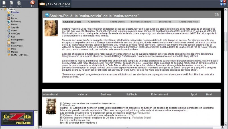 Foto Online TV Live Español