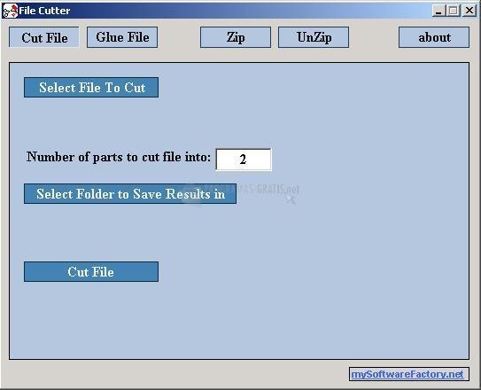 Pantallazo File Cutter
