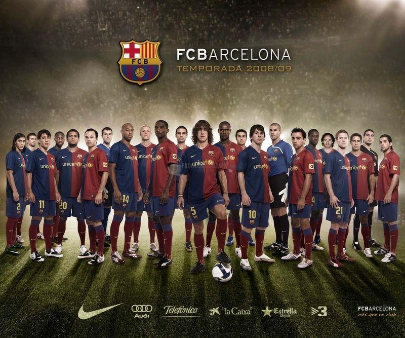 Pantallazo FC Barcelona Temporada 2008/09