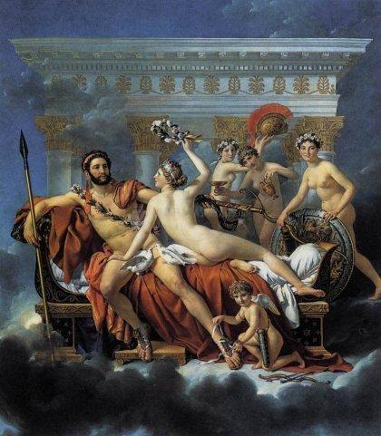 Pantallazo Jacques-Louis David Screensaver