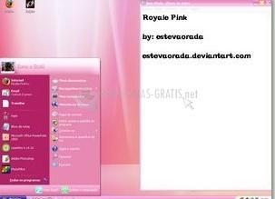 Pantallazo Rhayssa Royale Pink