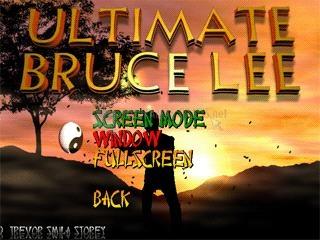 Pantallazo Ultimate Bruce Lee