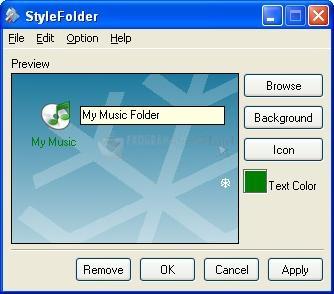 Pantallazo StyleFolder