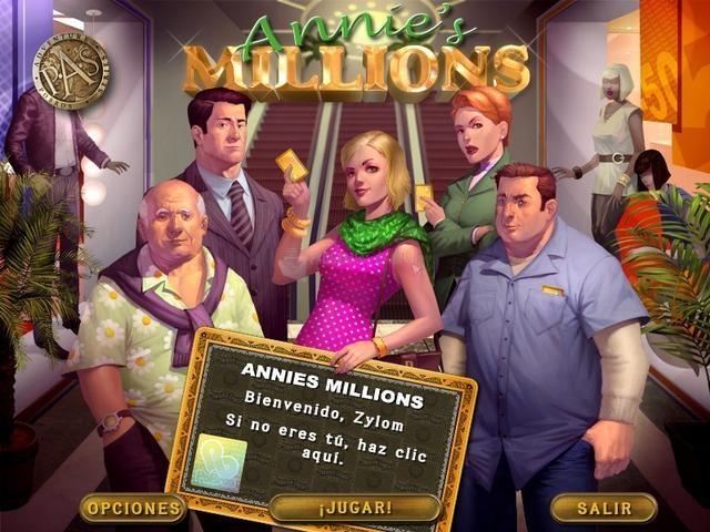 Pantallazo Annie´s Millions Deluxe