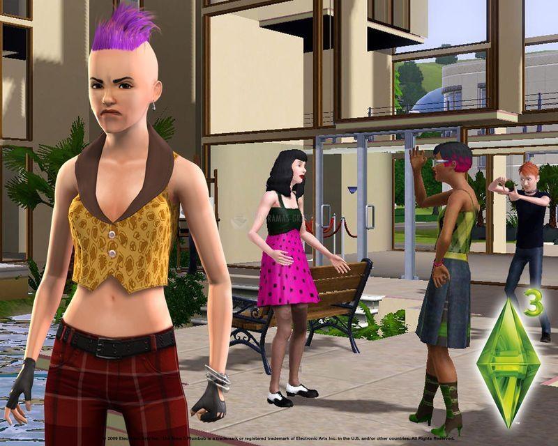 Pantallazo Los Sims 3: punky