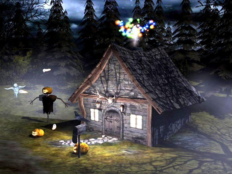 Pantallazo 3D Spooky Halloween Screensaver