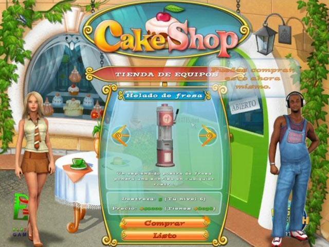 Pantallazo Cake Shop