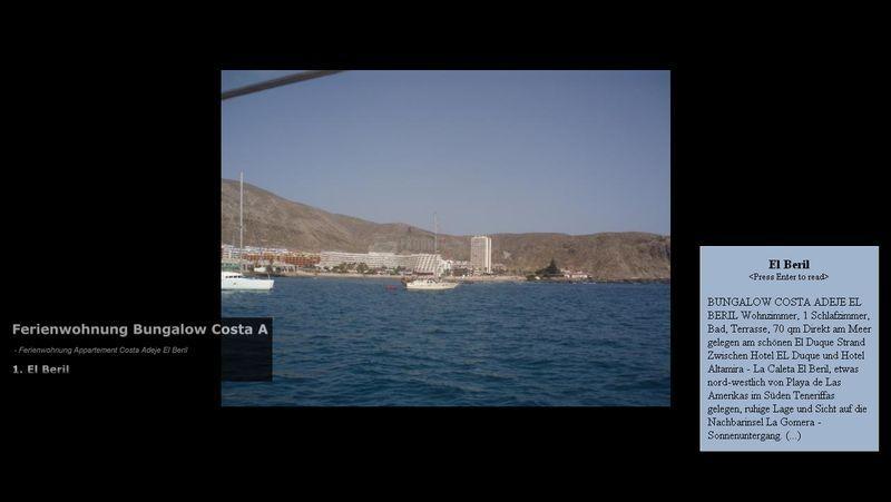 Pantallazo Canarias Screensaver