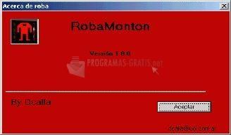 Pantallazo Robamonton