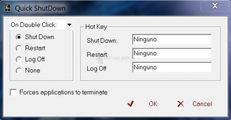 Pantallazo Active Shutdown