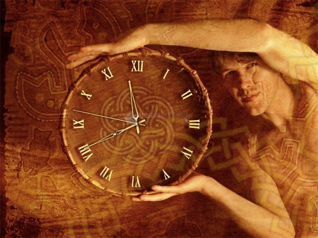 Pantallazo Ethnic Clock ScreenSaver