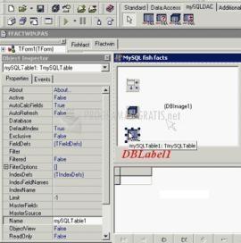 Pantallazo DAC for MySQL