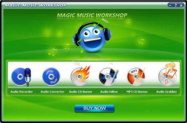 Pantallazo Magic Music Workshop