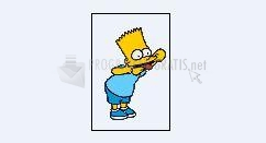 Foto Bart haciendo burla