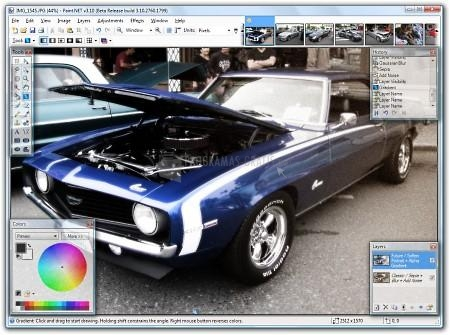 Pantallazo Paint NET