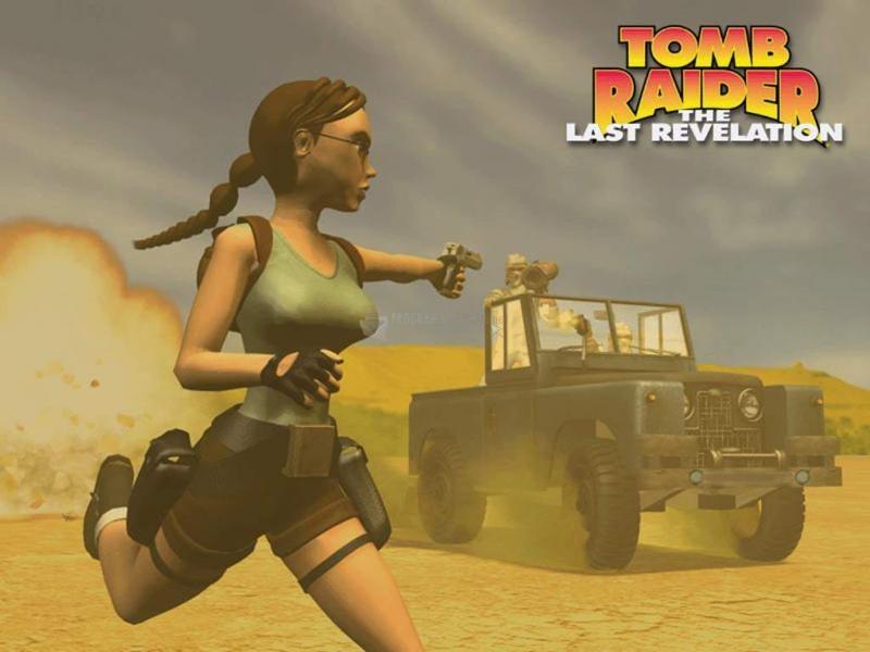 Pantallazo Tomb Raider The last revelation: Fondo