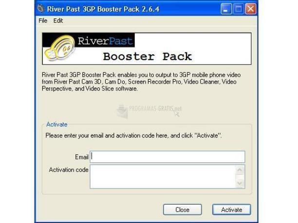 Pantallazo 3GP Booster Pack