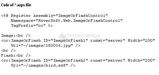 Pantallazo RImage Or Flash Control