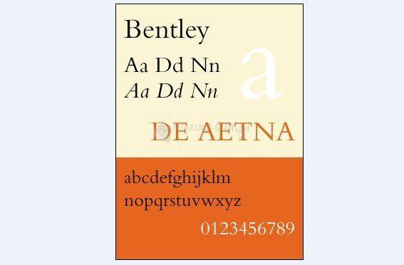 Foto Bentley Font
