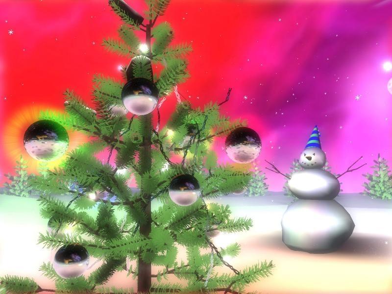 Pantallazo Christmas Galaxy 3D ScreenSaver