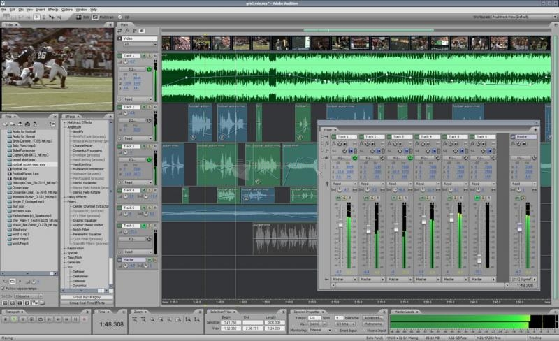 Pantallazo Adobe Audition