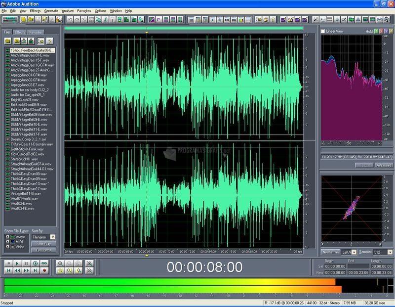 descargar adobe audition gratis windows 10
