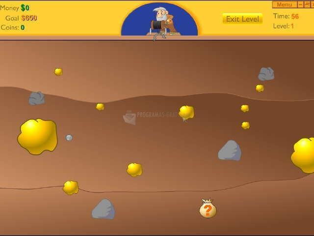 Pantallazo Gold Miner