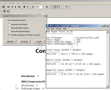 Pantallazo PDF Paper Stats