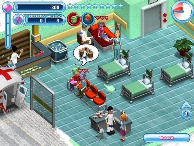 Pantallazo Hospital Hustle