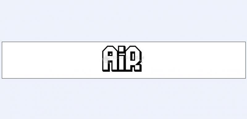 Pantallazo Air Font