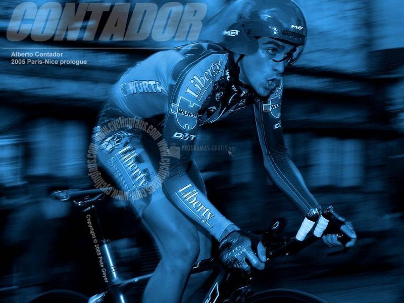 Pantallazo Alberto Contador