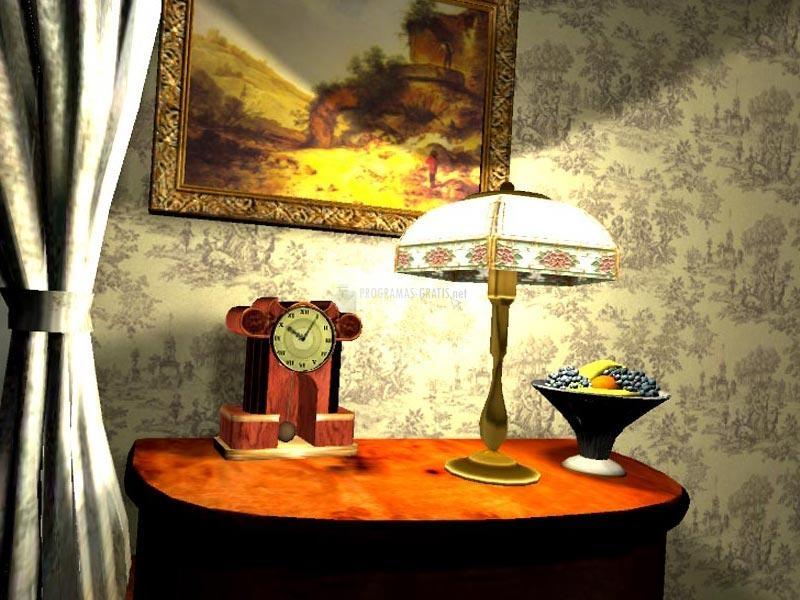 Pantallazo 3D Grandfather Clock Screensaver