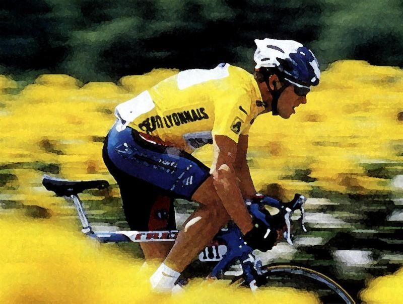 Pantallazo Tour de Francia: Lance Armstrong