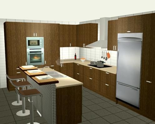 Atractivo software de dise o de interiores de la cocina for Software diseno de interiores gratis