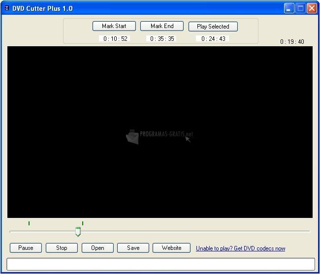 Pantallazo DVD Cutter Plus