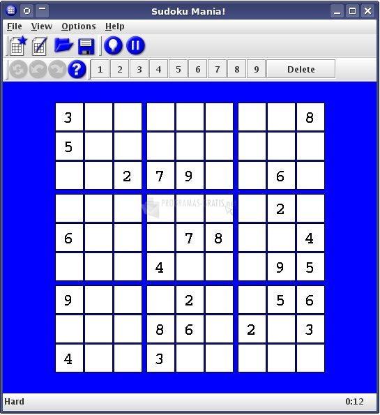 Pantallazo Sudoku Mania